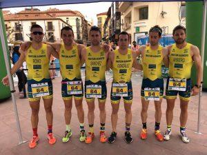 Equipo de duatlón del CD Casman Triatlón Albacete