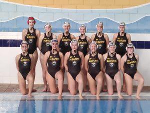 Equipo femenino del Waterpolo Albacete