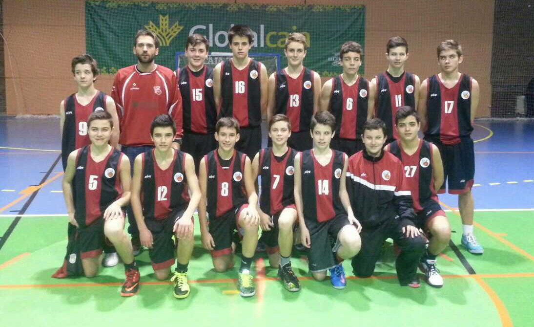 Equipo infantil del Club Baloncesto EBA