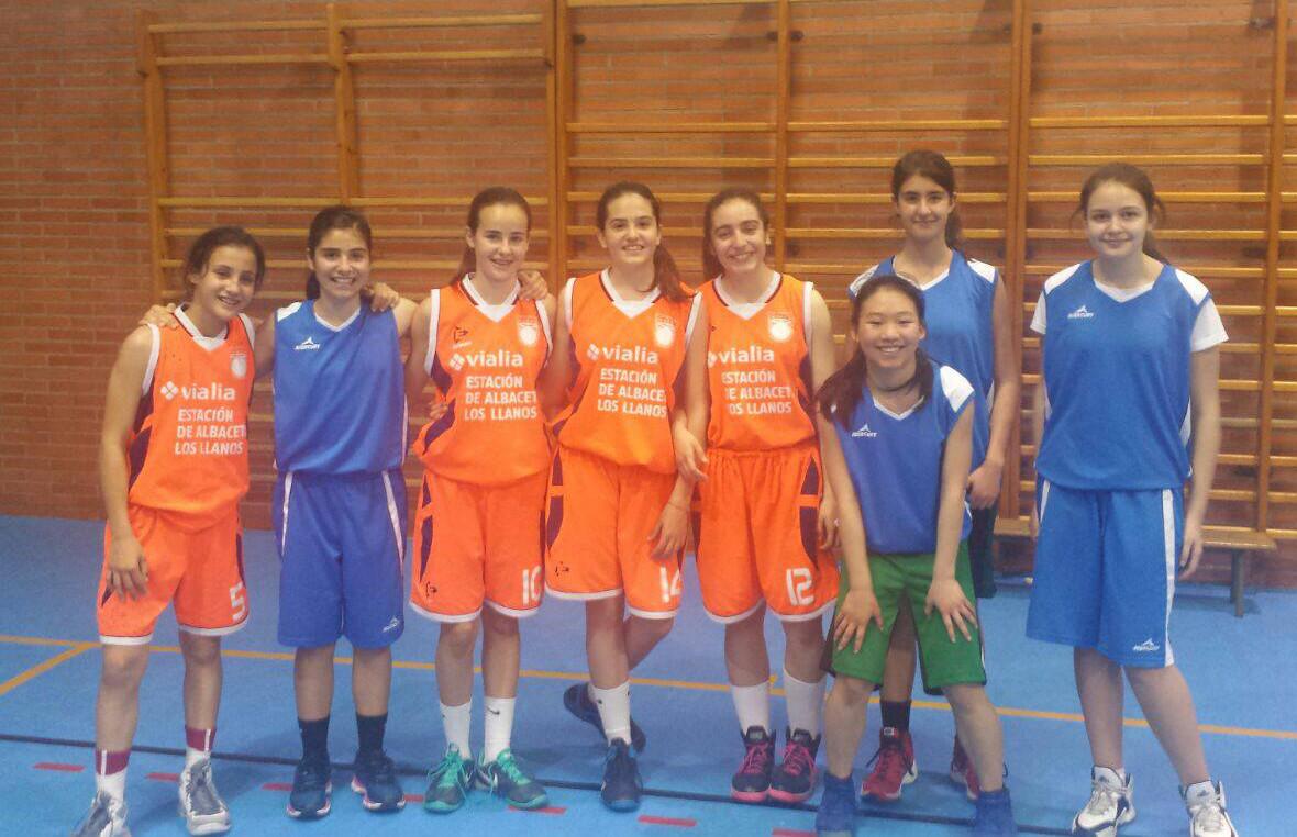Equipo infantil femenino del ADB Hellín