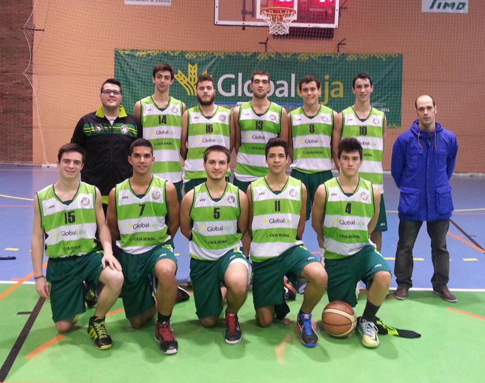 Equipo junior del Albacete Basket