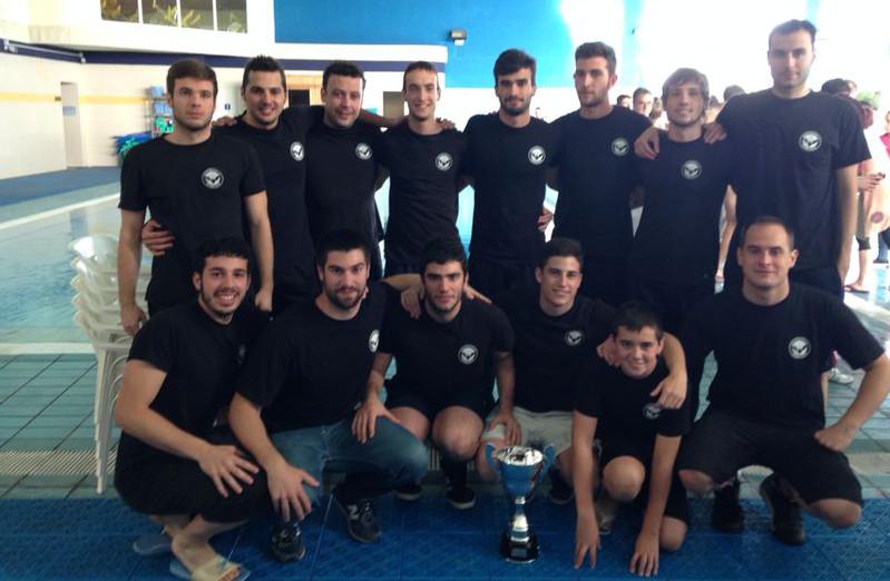 Equipo masculino del Waterpolo Albacete
