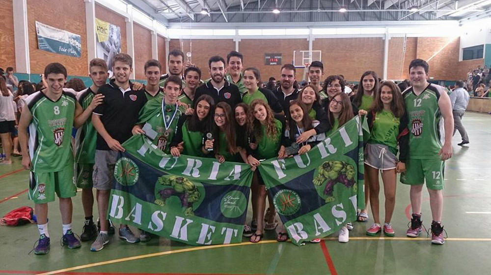 Equipos del Baloncesto CP La Roda en Portugal