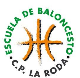 Escudo de la Escuela de Baloncesto CP La Roda