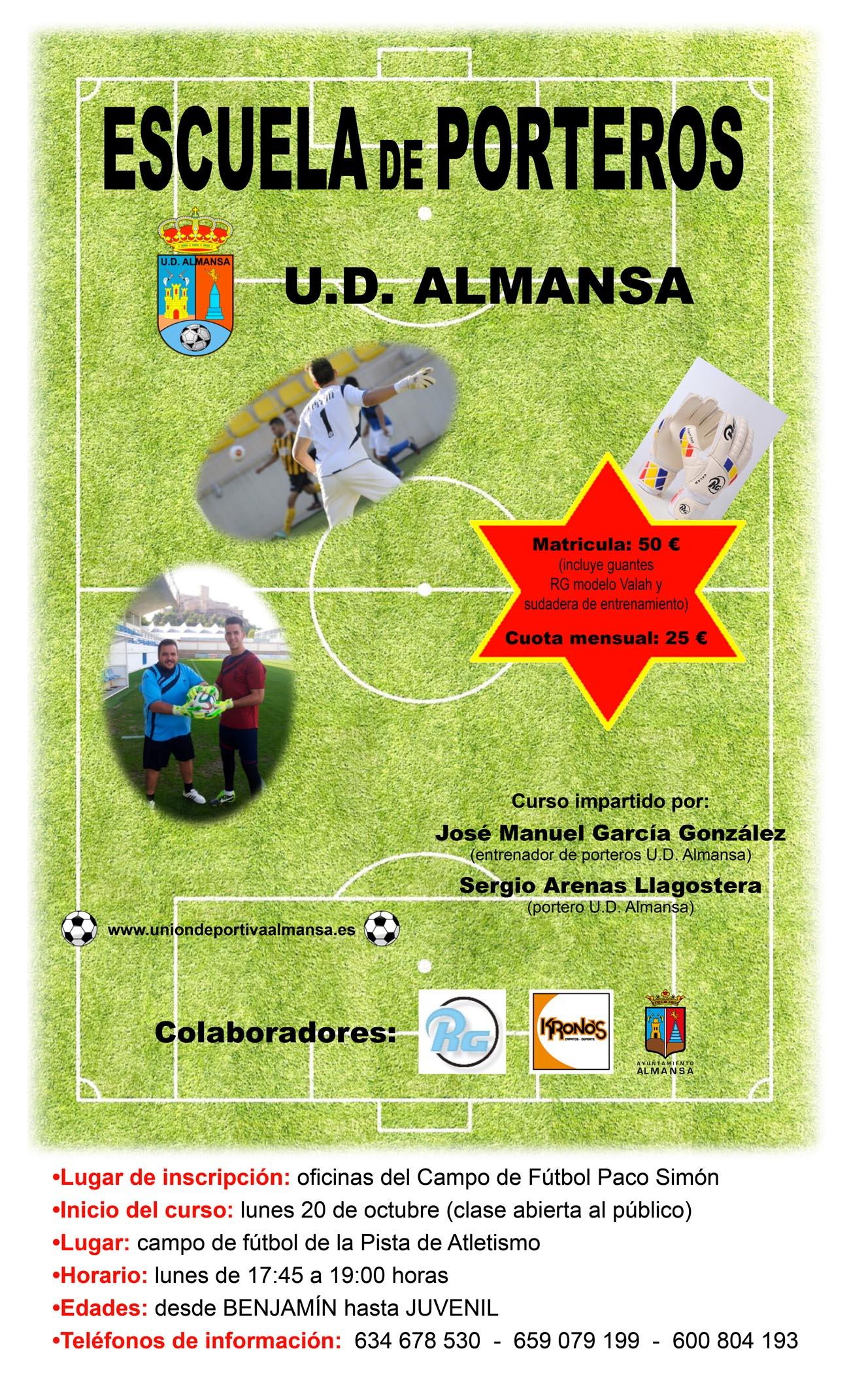 Escuela de Porteros de la UD Almansa