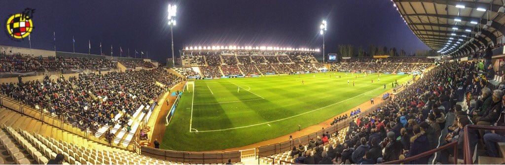 España - Austria Sub 21, Estadio Carlos Belmonte de Albacete