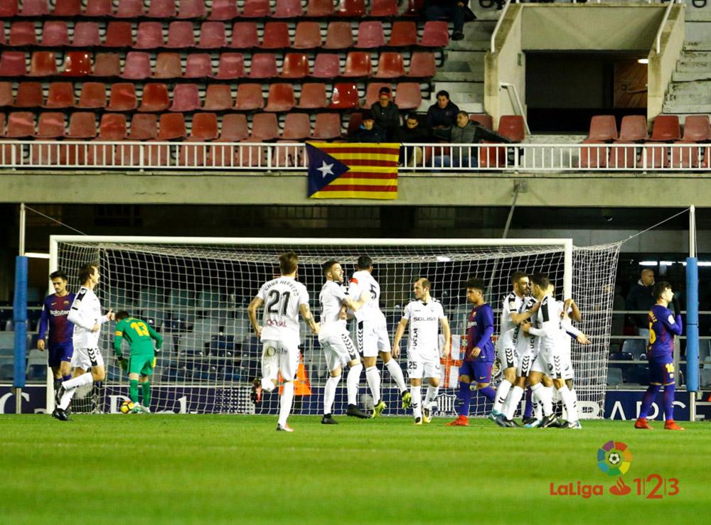 FC Barcelona B - Albacete Balompié