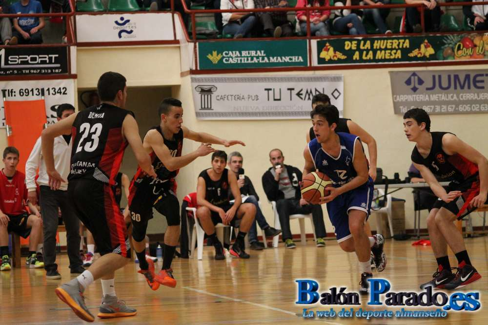 Fase Final Junior CB Almansa - Basket Quintanar