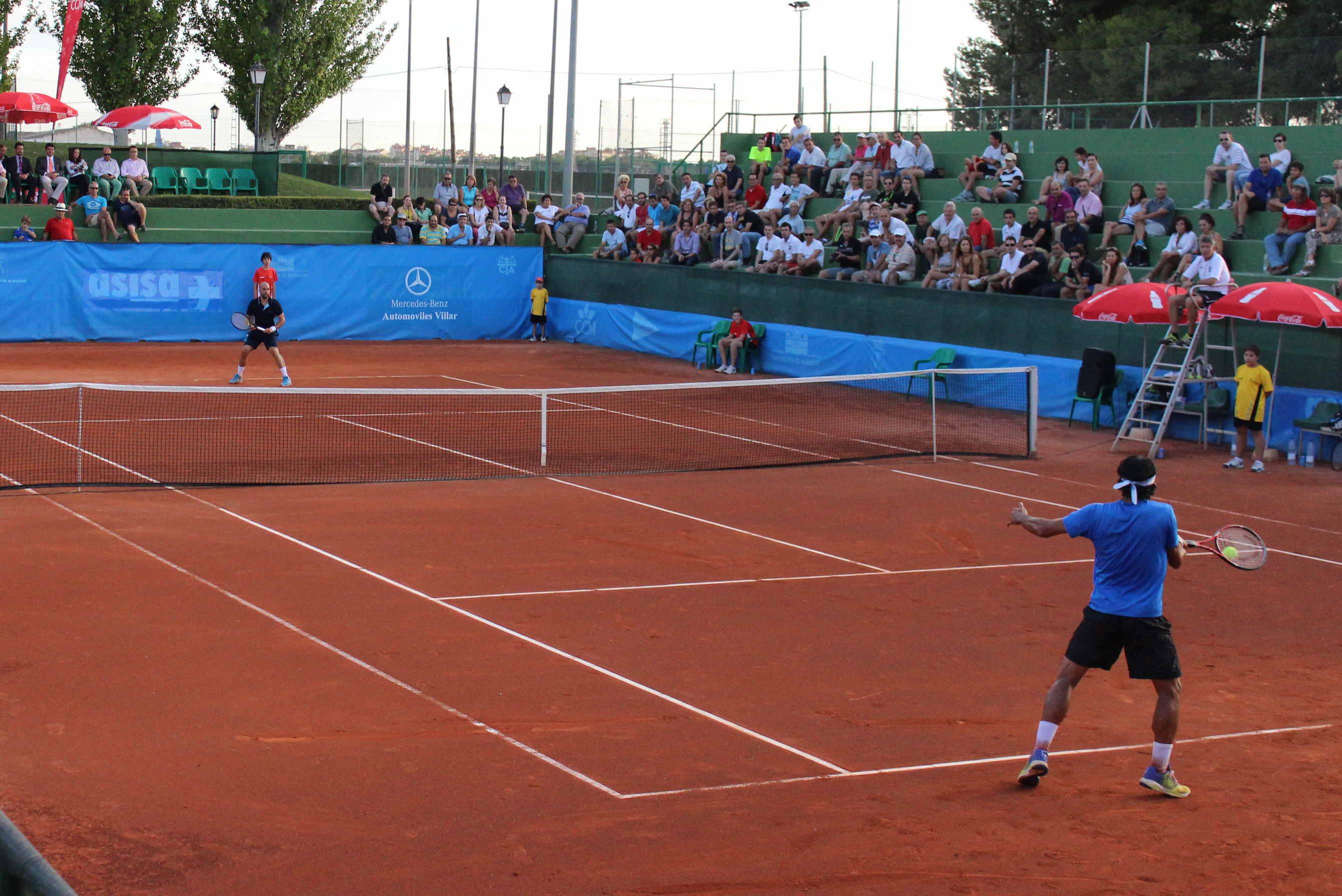 Final del Trofeo Internacional de Tenis Ciudad de Albacete en 2014