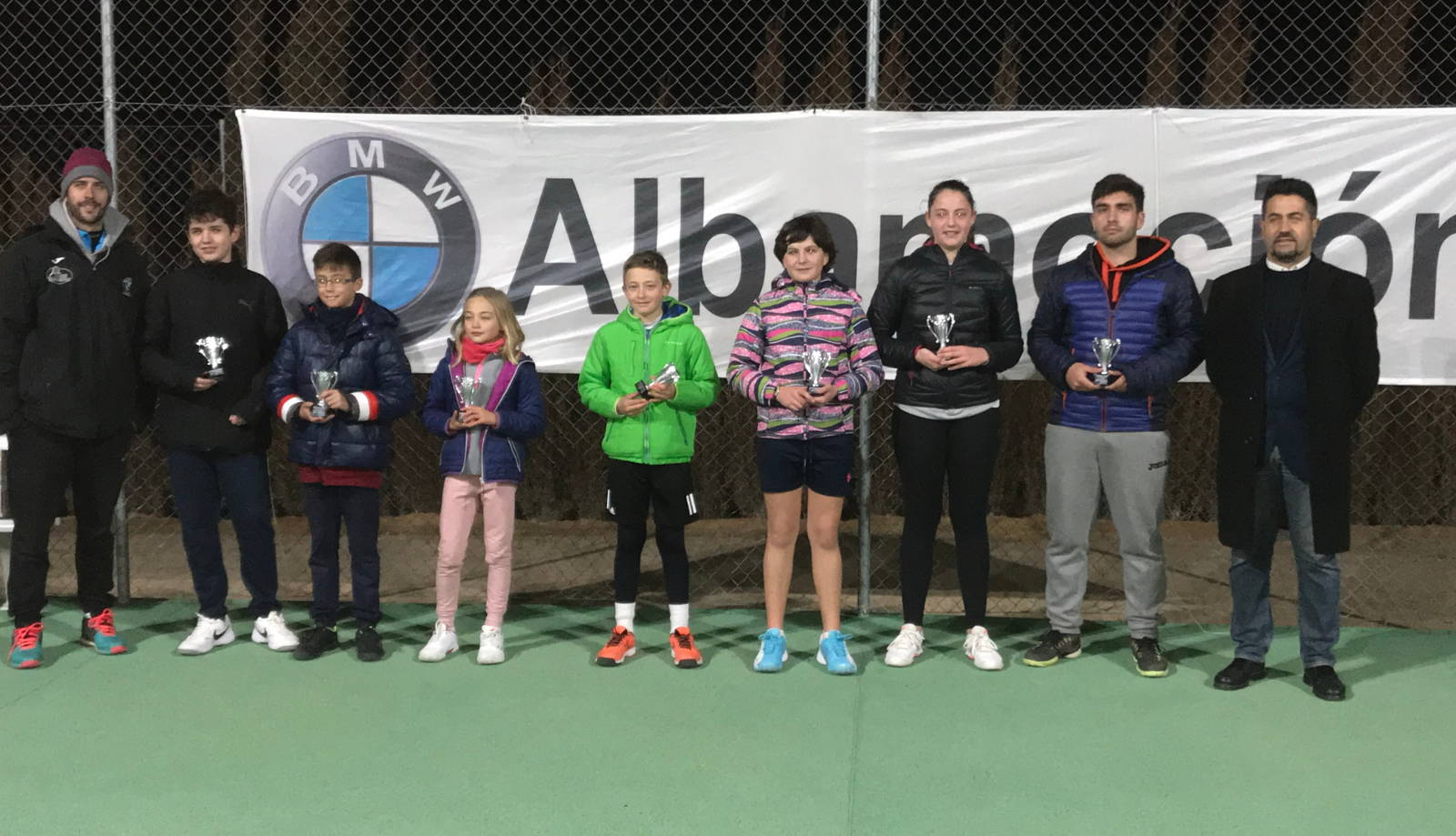 Finalistas Open BMW Albamoción de Tenis
