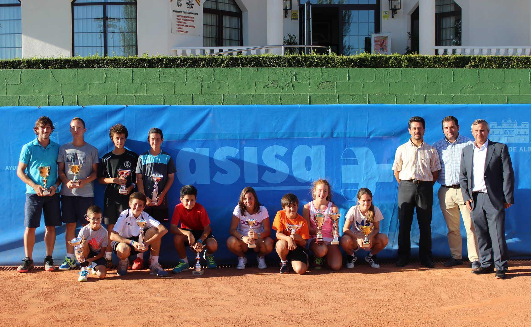 Finalistas de la segunda fase del II Circuito Asisa de Tenis