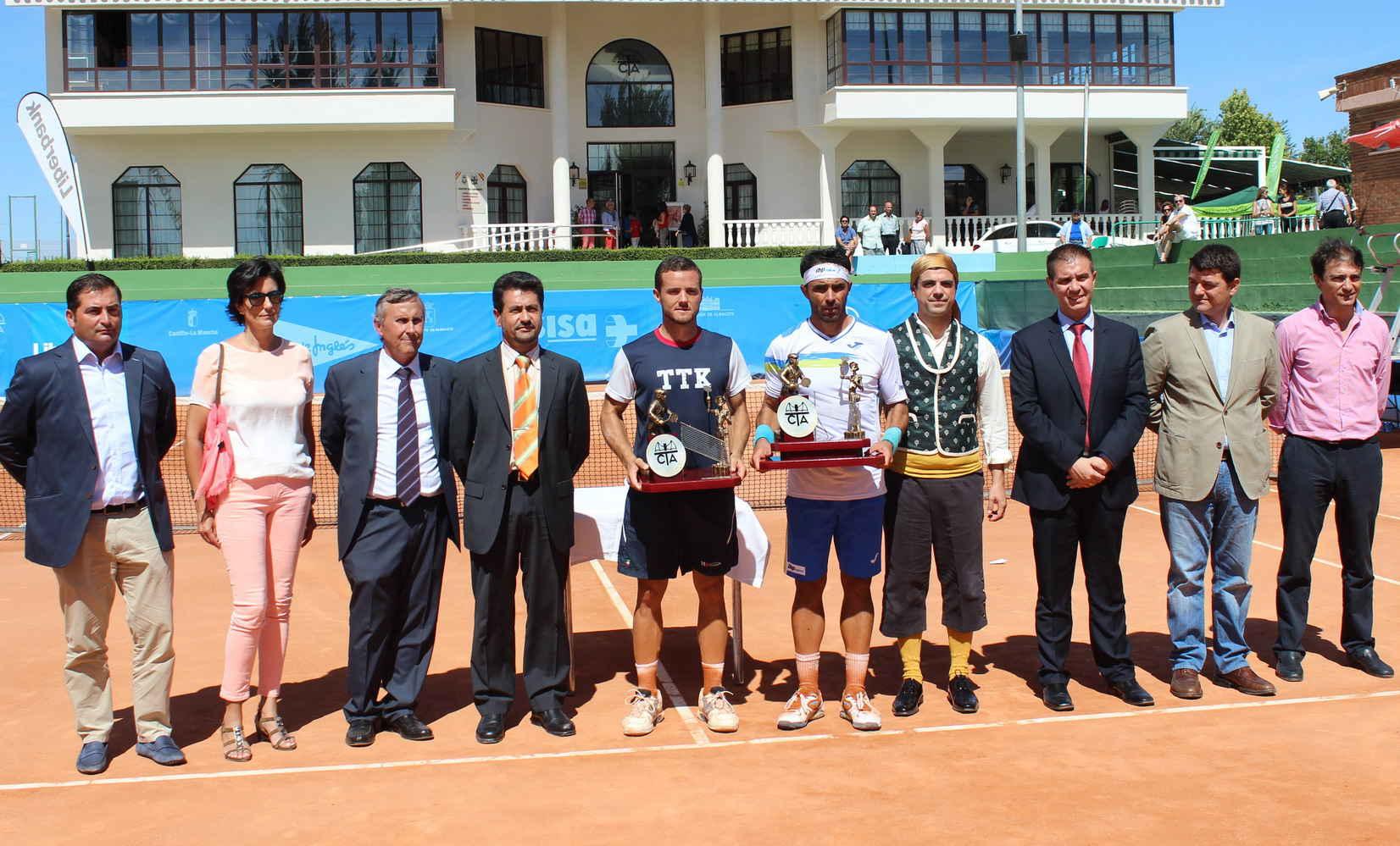Finalistas del Trofeo Internacional de Tenis Ciudad de Albacete