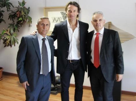Julián García, Carlos Moyá y José Luis Escañuela (Foto: www.rfet.es)