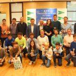 Foto de familia Trofeo de Navidad de Tenis El Corte Inglés 2017
