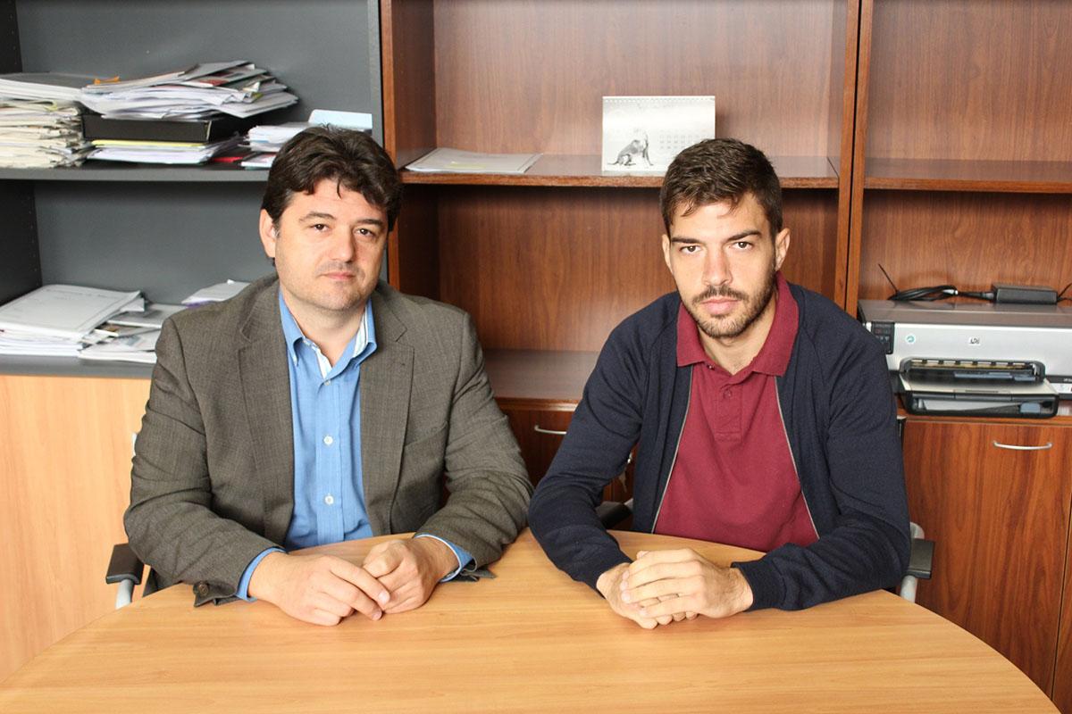 Francisco Navarro y Juan Salmerón