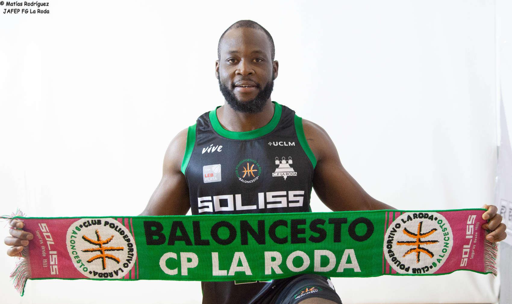 Franco Kouagnia, nuevo jugador del Jafep Fundación Globalcaja La Roda