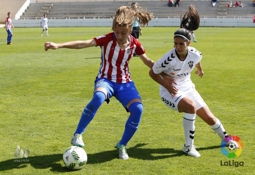 Fundación Nexus Albacete - Atlético de Madrid (Foto: LFP)