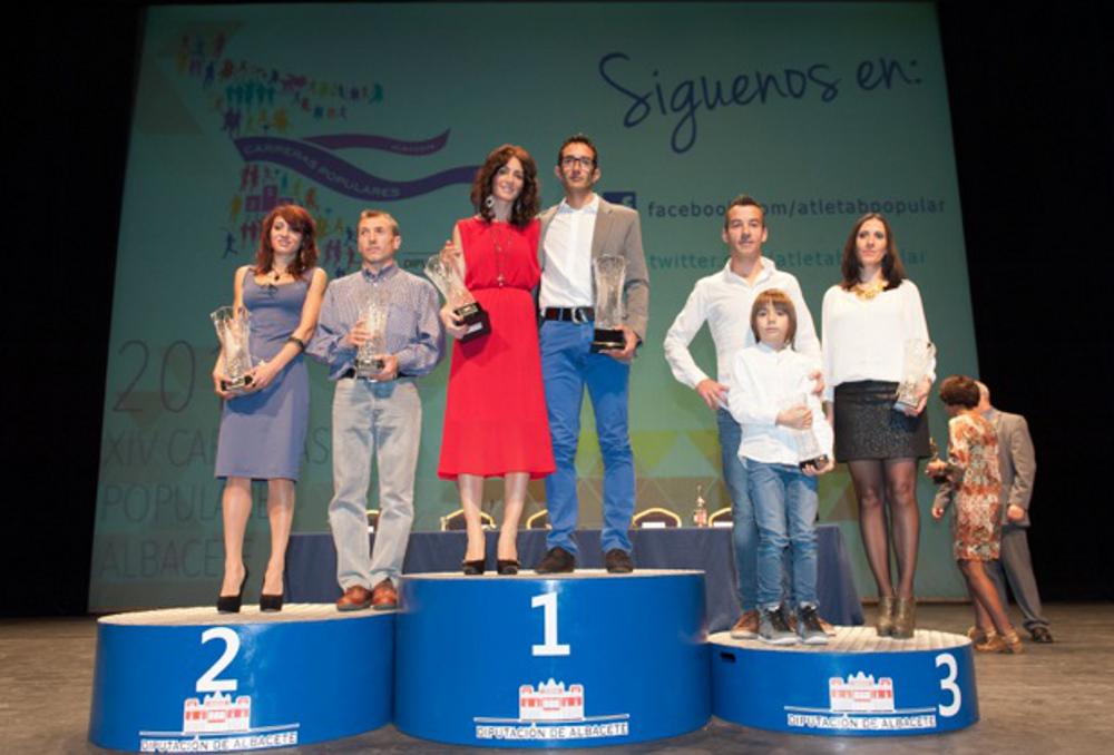 Gala XIV Circuito Provincial de Carreras Populares (Foto: Diputación de Albacete)