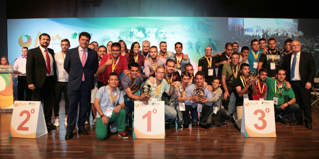 Gala de Clausura del Campeonato Nacional de Fútbol Inclusivo de FECAM