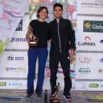 Ganadores de la XII Carrera Popular de Alcaraz (Foto: Paco Villaescusa)