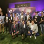 Ganadores del II Balón de Castilla-La Mancha
