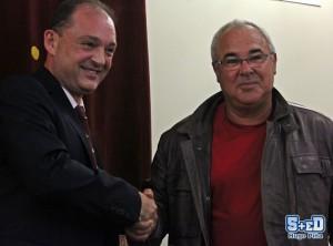 José Miguel Garrido y José Antonio Iniesta (Foto: Hugo Piña, de www.5maseldescuento.es)