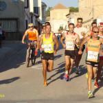 Grupo de cabeza en la VII Carrera Popular de Mahora (Foto: Paco Villaescusa)