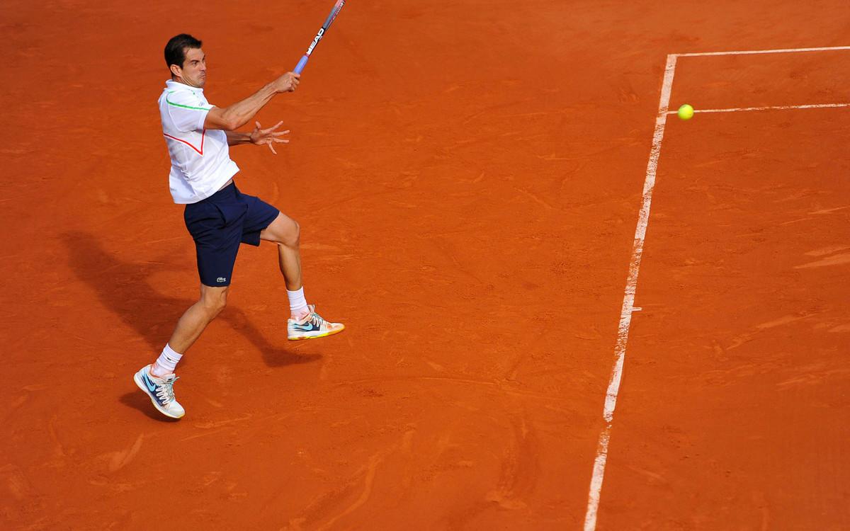 Guillermo García López en Roland Garros