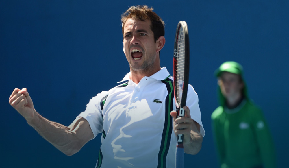 Guillermo García López en el Open de Australia