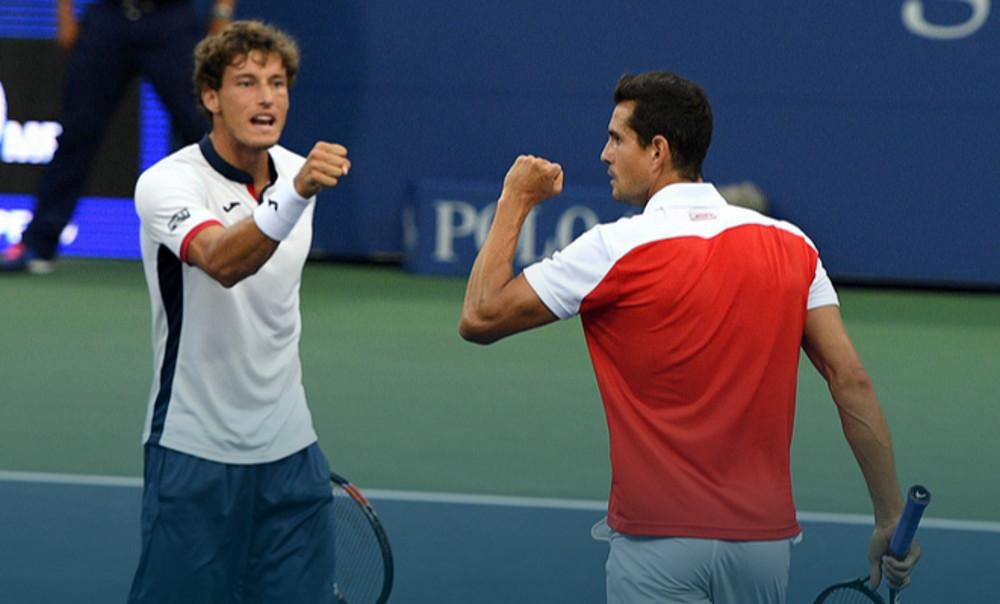 Pablo Carreño y Guillermo García López en el US Open