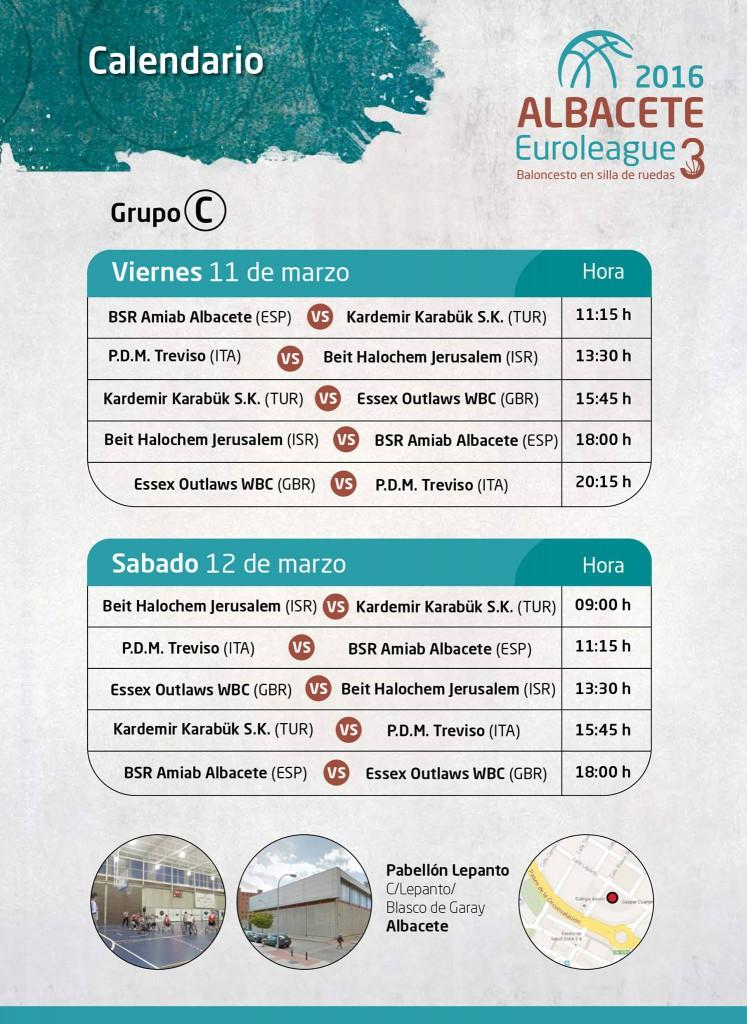 Horarios Euroleague 3