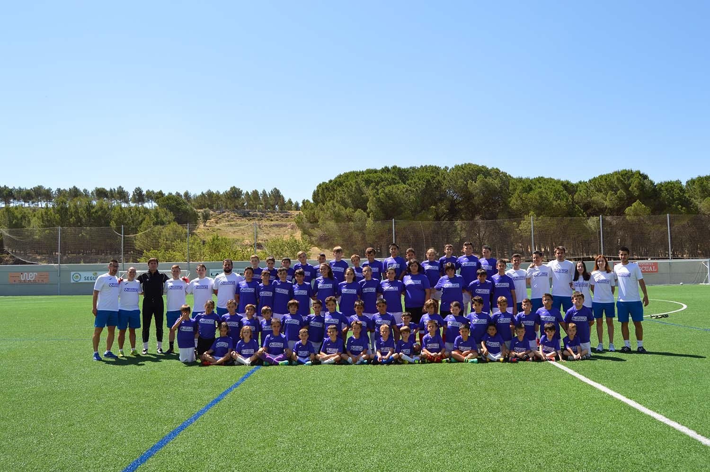 I Campus de Fútbol de Higueruela