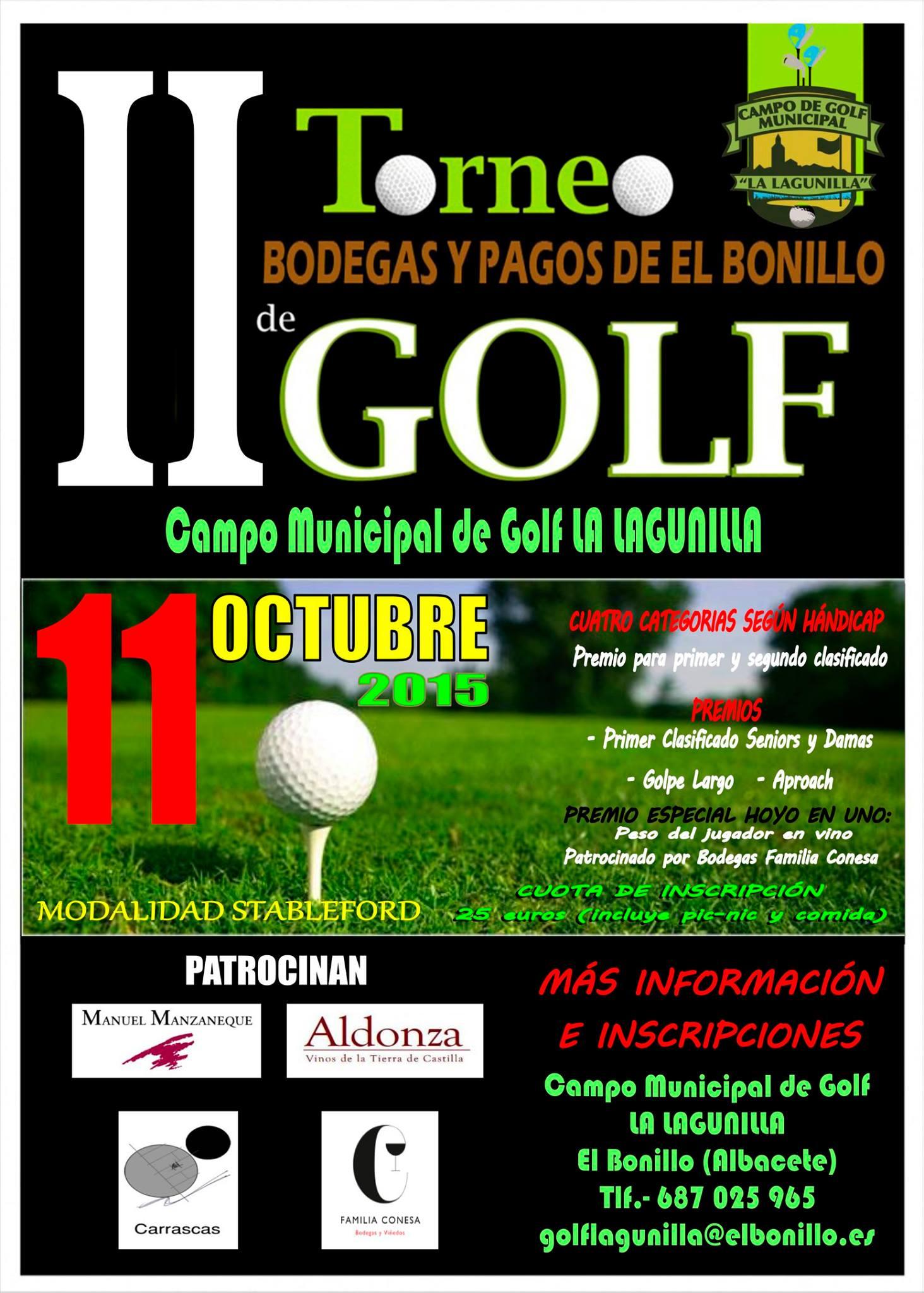 II Torneo de Golf