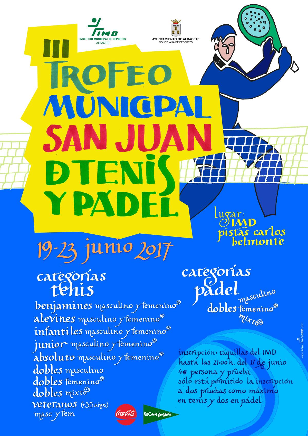 III Trofeo Municipal San Juan de Tenis y Pádel