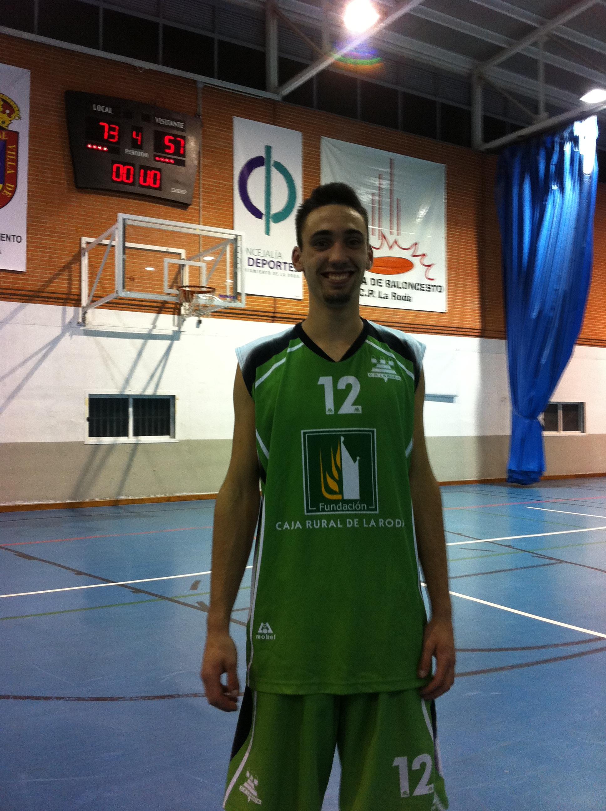 Alfonso Carrasco (Foto: Baloncesto La Roda)