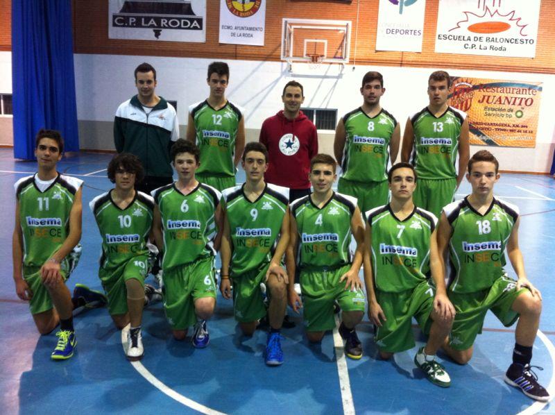 Insece CP La Roda (Foto: Baloncesto La Roda)