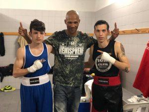 Integrantes del Fight Club Albacete, Álex Muñoz y Jordi Martínez