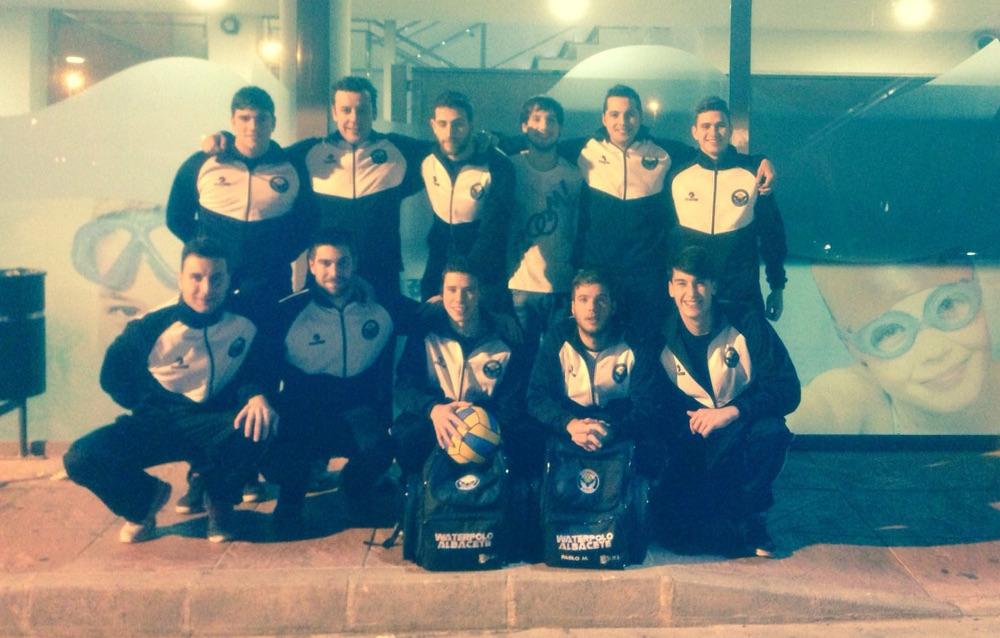 Integrantes del Waterpolo Albacete
