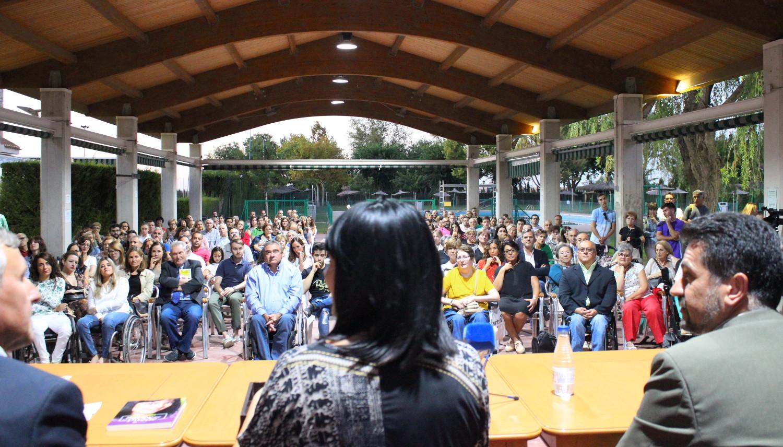 Irene Villa en el Club Tenis Albacete