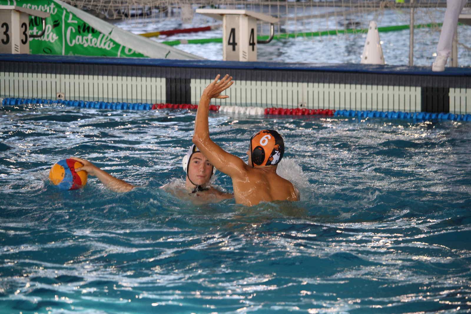 Ismael Sánchez, jugador del Waterpolo Albacete