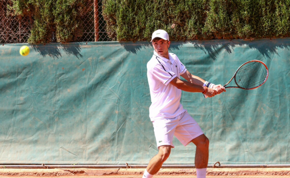 Jaime Castillo, tenista rodense