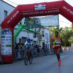Jaouad Oumellal en la Media Maratón de Almansa