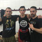 Jesús Coy, Jordi Martínez y Enrique Roldán