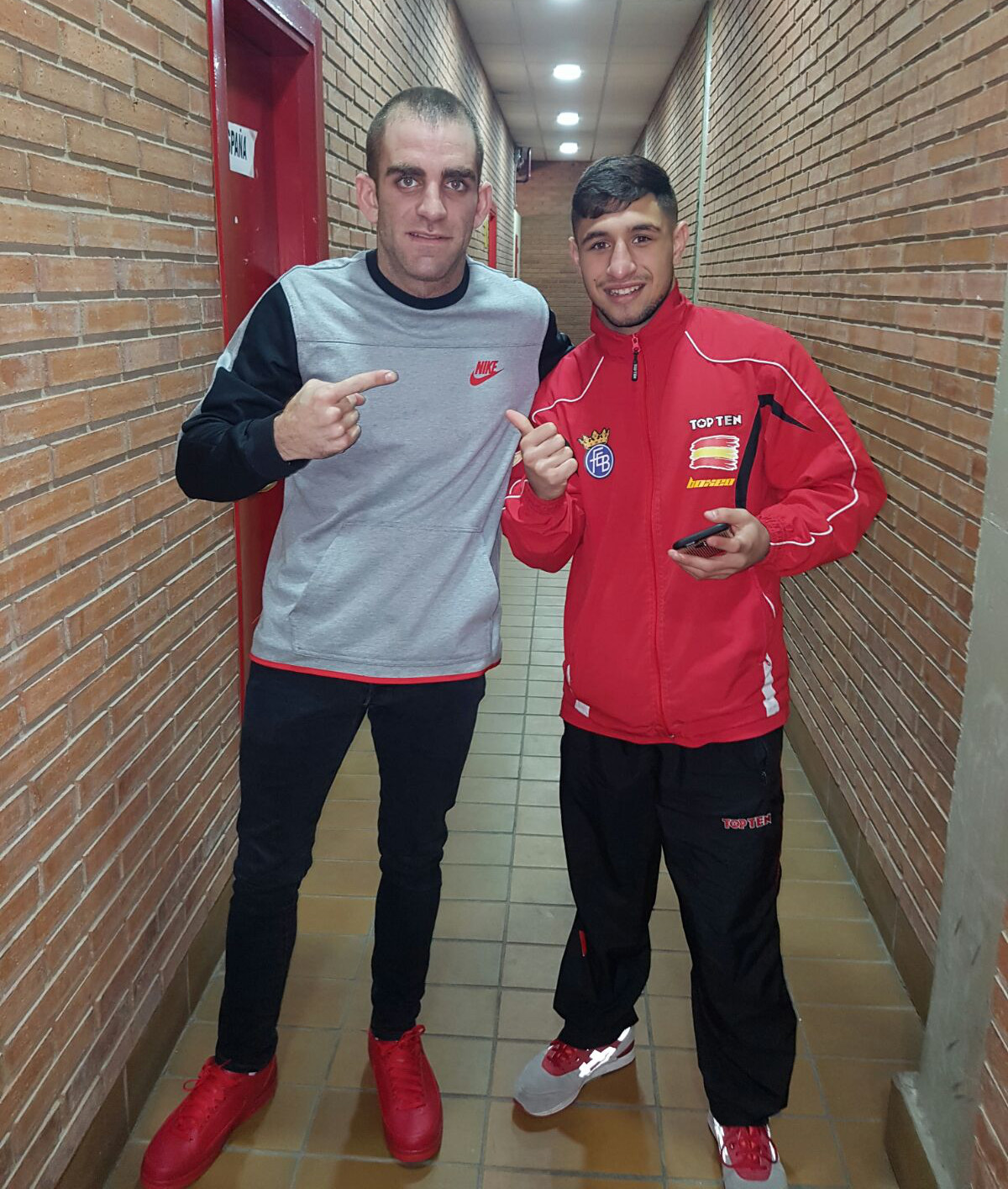 Jesús Coy y Samuel Carmona