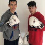 Jordi Martínez y Álex Muñoz, boxeadores del Fight Club Albacete
