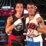 Los boxeadores Jordi Martínez y Kiko Gómez
