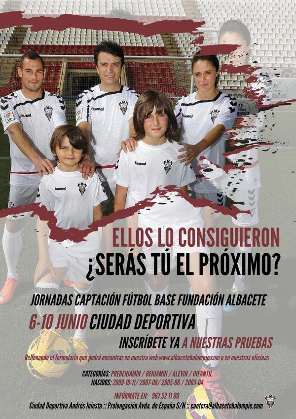 Jornadas de Captación de Fútbol Base Fundación Albacete Balompié