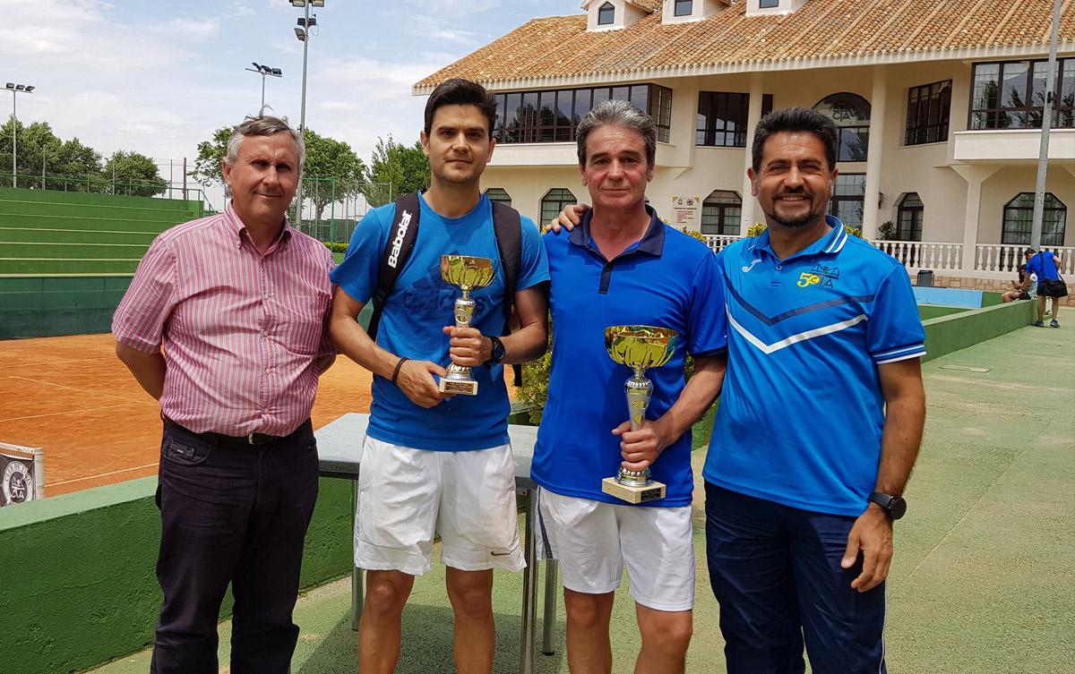 José Antonio Mondéjar, campeón provincial de tenis en la categoría de veteranos