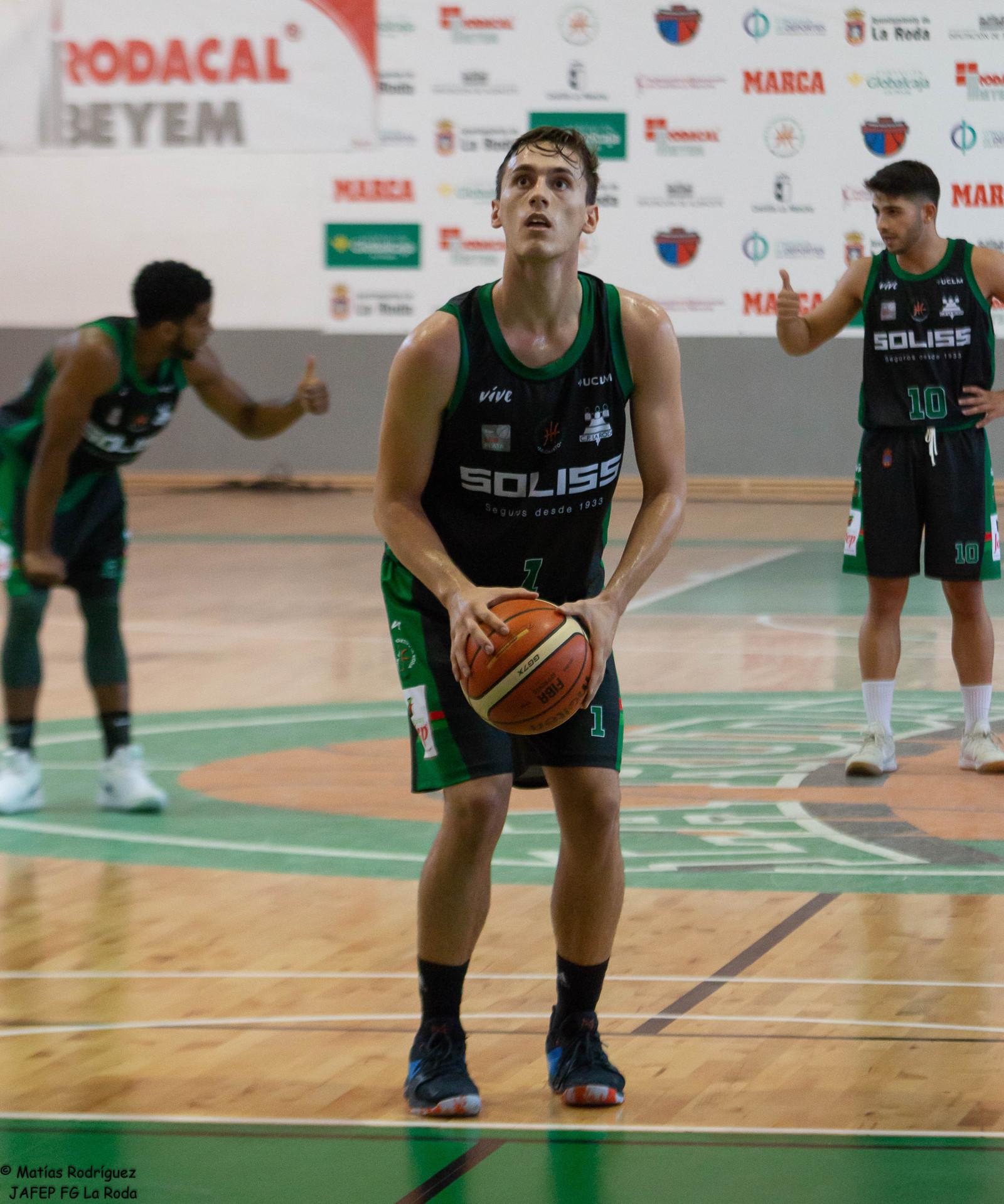 José Luis Ibáñez, jugador del Jafep Fundación Globalcaja La Roda