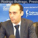 José Luis Rodrigo, presidente de la Federación de Baloncesto de Castilla-La Mancha